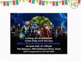 Avenger Birthday Invitations Avengers Birthday Invitation Best Party Ideas