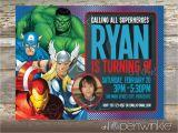 Avenger Birthday Invitations Avengers Birthday Invitations Best Party Ideas