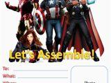 Avengers Birthday Invitation Templates Free 7 Best Images Of Free Avengers Printable Birthday