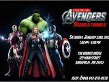 Avengers Birthday Invitation Templates Free Avengers Birthday Invitations Avengers Birthday