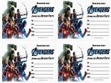 Avengers Birthday Invitation Templates Free Avengers Birthday Invitations Free Printable