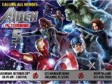 Avengers Birthday Invitation Templates Free Avengers Birthday Invitations