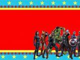 Avengers Birthday Invitation Templates Free Avengers Free Printable Invitations Oh My Fiesta In