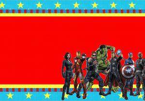 Avengers Birthday Invitation Templates Free Printable Invitations Oh My Fiesta In