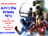 Avengers Birthday Invitation Templates Free Party Invitation Templates Avengers Party Invitations