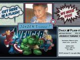 Avengers Birthday Invitations Custom Custom Avengers Invitations Cobypic Com