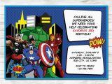 Avengers Birthday Invites Avengers Invitation Avengers Party Avengers Printable