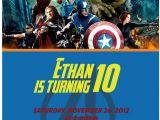Avengers Birthday Invites Avengers Invitations Template Party Invitations Ideas