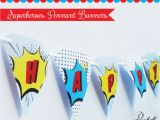 Avengers Happy Birthday Banner Free Printable Superheroes Pennant Banners for Avengers Birthday Party
