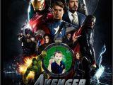 Avengers Photo Birthday Invitations Avengers Custom Birthday Party Invitations Captain America