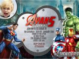 Avengers themed Birthday Invitation 34 Superhero Birthday Invitation Templates Free Sample