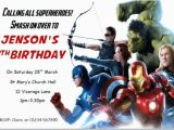Avengers themed Birthday Invitation Avengers Birthday Invitations Lijicinu 953d9af9eba6