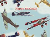 Aviation Birthday Cards Aeroplane Happy Birthday Card by Powell Craft Rumours