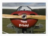 Aviation Birthday Cards Airplane Pilot Happy Birthday Card Zazzle