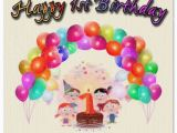 Baby 1st Birthday Card Messages Happy 1st Birthday Wishes for Baby Girls and Boys