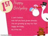 Baby 1st Birthday Card Messages Wishes Quotes Blog top 20 Images 1st Birthday Wishes