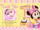 Baby 1st Birthday Thank You Cards 1st Birthday Thank You Quotes Quotesgram