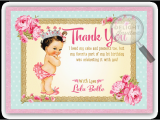 Baby 1st Birthday Thank You Cards Vintage Baby 1st Birthday Thank You Cards Di 693ty