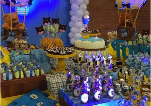 Baby Boy 1st Birthday Decoration Ideas Party Photo 15 Of 16 Catch