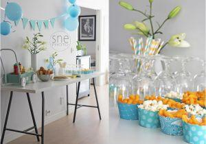 Baby Boy 1st Birthday Decoration Ideas Party Happy Idea On A First