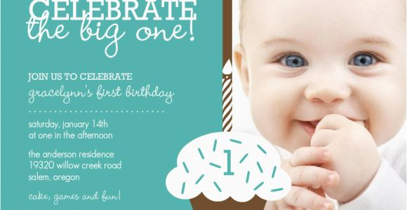 Baby Boy 1st Birthday Party Invitations Baby Boy First Birthday Invitations Free Invitation