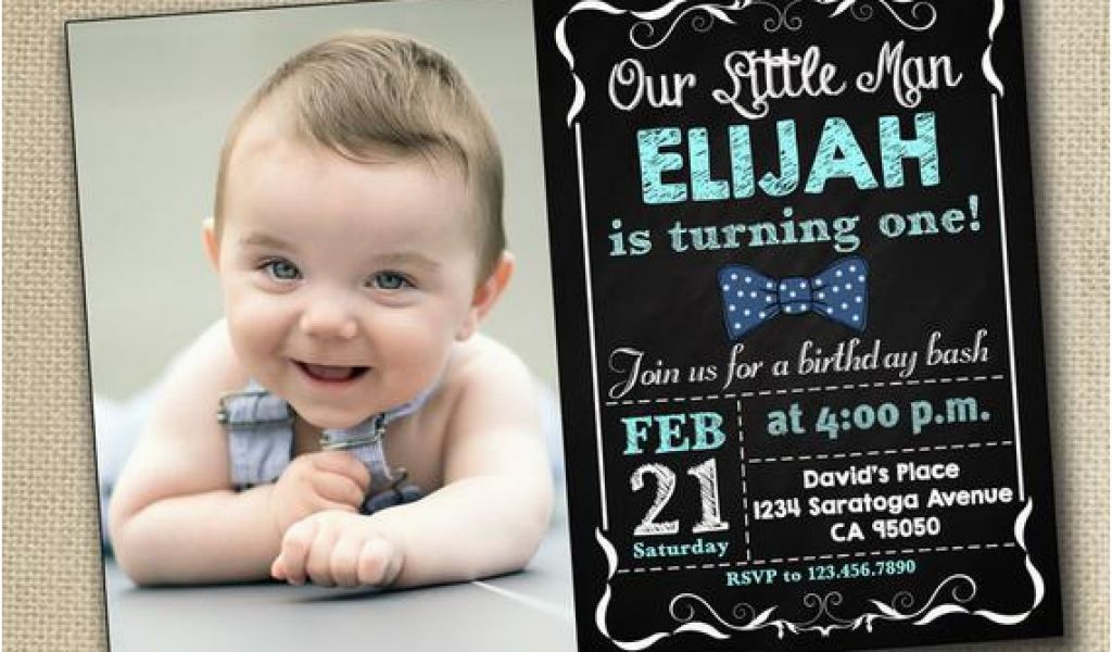 Download By SizeHandphone Tablet Desktop Original Size Back To Baby Boy 1st Birthday Party Invitations