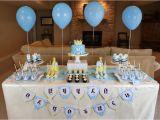 Baby Boy First Birthday Decoration Ideas 96 Party 1st