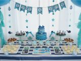 Baby Boy First Birthday Decoration Ideas Baby Whale themed