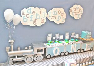 Baby Boy First Birthday Decoration Ideas Cute 1st Party Themes