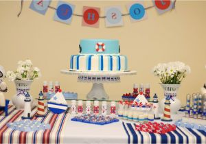 Baby Boy First Birthday Decoration Ideas Plain Party For 9 Accordingly