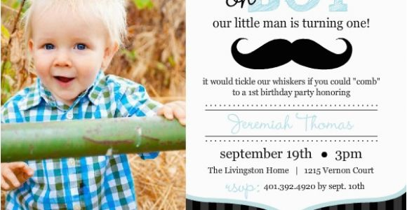 Baby Boy First Birthday Invitation Quotes 1st Wording Ideas From Purpletrail
