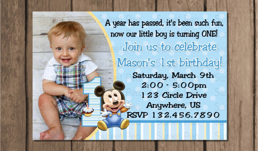 Download by size:Handphone Tablet Desktop (Original Size). Back To Baby Boy First Birthday Invitation Wording