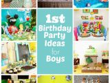 Baby Boy First Birthday Party Decorations 1st Birthday Party Ideas for Boys Right Start Blog On A