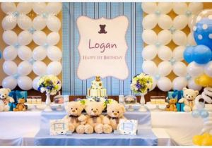 Baby Boy First Birthday Party Decorations 1st Themes At Home For Boys