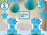 Baby Boy First Birthday Party Decorations 1st Birthday themes for Kids Margusriga Baby Party