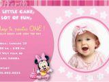 Baby First Birthday Cards Design 1st Birthday Photo Invitations Girl so Pretty