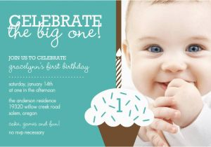Baby First Birthday Invitation Templates Free Boy 1st Invitations Printable