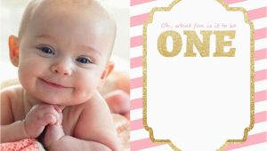 Baby First Birthday Invitation Templates Free Free Printable 1st Birthday Invitations Template Free