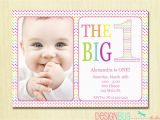 Baby Girl First Birthday Party Invitations Rainbow First Birthday Invitation Baby Girl Diy Photo