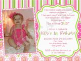 Baby Girls First Birthday Invitations Baby Girl 1st Birthday Invitations Best Party Ideas
