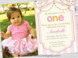 Baby Girls First Birthday Invitations Girl First Birthday Invitations 1st Birthday Party