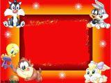 Baby Looney Tunes Birthday Invitations Baby Looney Tunes Free Printable Invitations or Cards