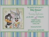 Baby Looney Tunes Birthday Invitations Images Of Baby Looney Tunes Baby Shower Invitations Looney
