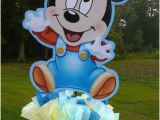 Baby Mickey Mouse 1st Birthday Decorations 24 Inch Baby Mickey Mouse Decorations Handmade Supplies