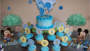 Baby Mickey Mouse 1st Birthday Decorations Baby Mickey Mouse Birthday Decorations Criolla Brithday