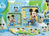 Baby Mickey Mouse 1st Birthday Decorations Mickey Mouse 1st Birthday Party Supplies Baby 39 S 1st