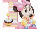 Baby Minnie 1st Birthday Decorations Baby Minnie 1st Birthday Iron On Transfer Instant Download