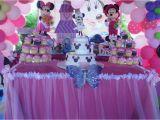 Baby Minnie 1st Birthday Decorations Baby Minnie Mouse 1st Birthday Birthday Party Ideas
