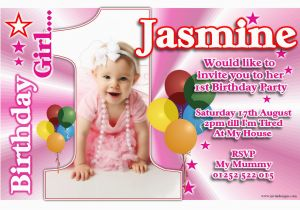 Baby S First Birthday Card Ideas 1st Birthday Invitations 1st Birthday Invitations