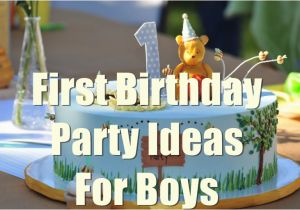 Babys First Birthday Decorations 1st Birthday Party Ideas for Boys You Will Love to Know